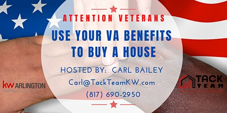 Attention Veterans: Use Your VA Benefits to Buy a House (Dallas) billets