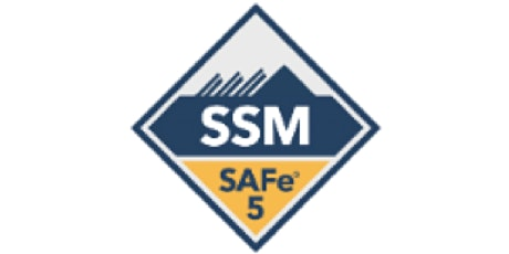 SAFe Scrum Master (5.0) - Remote Training PST tickets