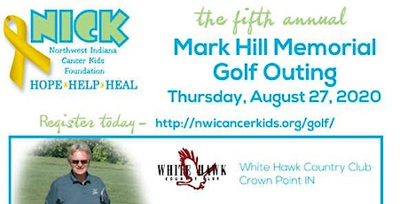 5th Annual Mark Hill Memorial Golf Outing tickets