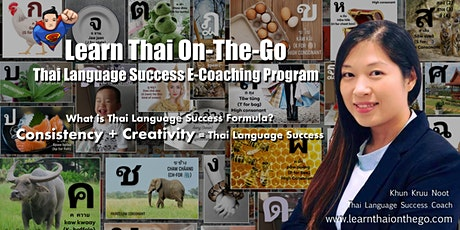 Learn Thai On-The-Go (9 Basic Modules for 1 year) tickets