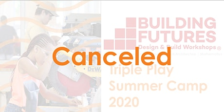 CANCELLED - 2020 Triple Play Summer Camp (Week 1) tickets