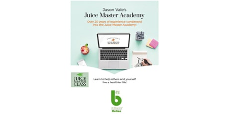 Juice Master Academy by Jason Vale at The Best You Online-1 Month FREE