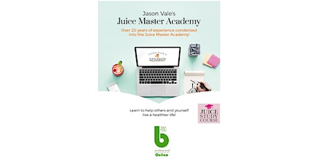 JUICE STUDY COURSE by Jason Vale at The Best You Online-1 Month FREE