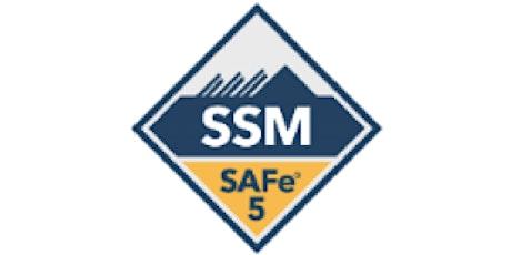 SAFe Scrum Master (5.0) - Remote Training EST tickets