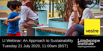 LI Webinar: A sustainable approach to street furniture with Vestre