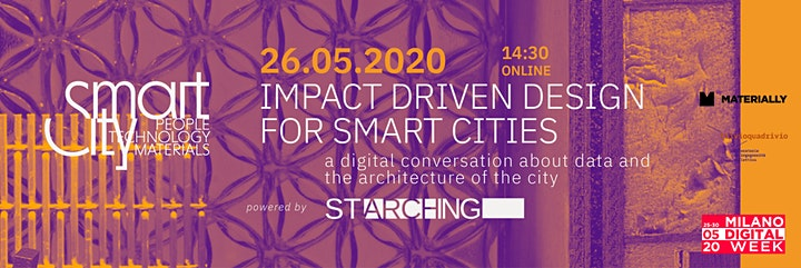 Immagine Milano Digital Week - Impact Driven Design for Smart Cities