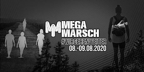 Megamarsch Spezial #WIRGEHENWEITER 08. & 09.08. tickets