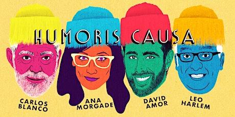 HUMORIS CAUSA en el Palacio de la Ópera A Coruña. 19:30h | EMHU 2020 entradas