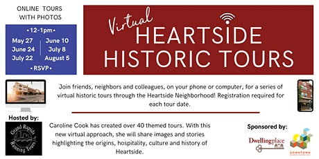 Virtual Heartside Walking Tours tickets
