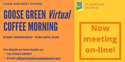 Goose Green Virtual Coffee Morning