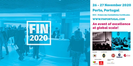 FIN2020 - The best international networking event bilhetes