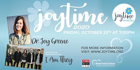 Joytime 2020 with Dr. Joy Greene and I Am They!  Updated Information! tickets