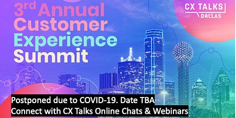 CX Talks Dallas: 3rd Annual Customer Experience Summit tickets