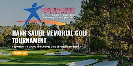 Hank Sauer Memorial Golf Tournament 2020 tickets