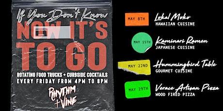Food Trucks + Curbside Cocktails At Rhythm + Vine tickets