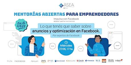 Mentorías Abiertas Online para Emprendedores entradas