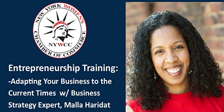 Entrepreneurship Program-Adapting Your Business in the Current Times tickets
