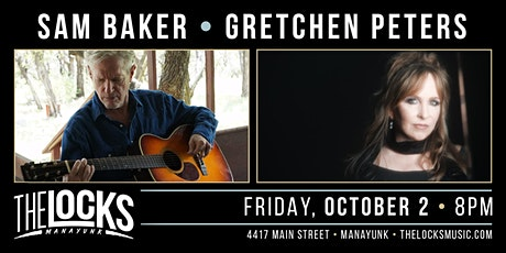 Sam Baker and Gretchen Peters Co-Bill tickets