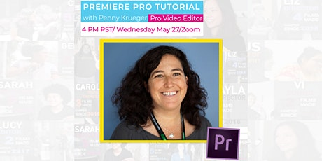 Adobe Premiere Pro Editing Tutorial with Reel Stories on Zoom! tickets