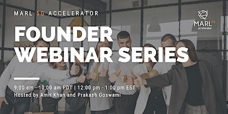 Startup Founder Webinar Series tickets