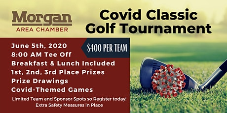 Covid Classic Golf Tournament by Morgan Area Chamber of Commerce tickets