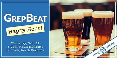 GrepBeat September '20 Happy Hour tickets