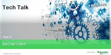 Tech Talk - BACnet Client tickets