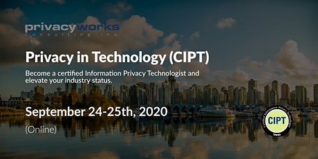 Privacy in Technology (CIPT Certification) tickets