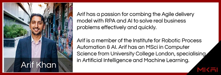 MKAI May Artificial Intelligence Forum | AI, Automation and Future of Work image