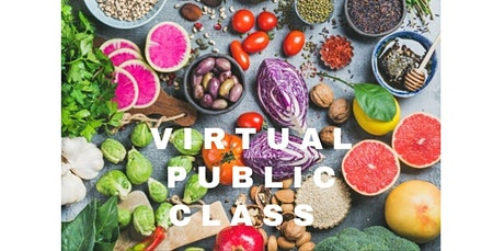 California Vegan/Vegetarian - Virtual Cooking Class with Chef Olive  (07-18-2020 starts at 2:00 PM) tickets