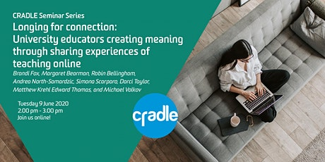 CRADLE Seminar Series: Longing for connection tickets