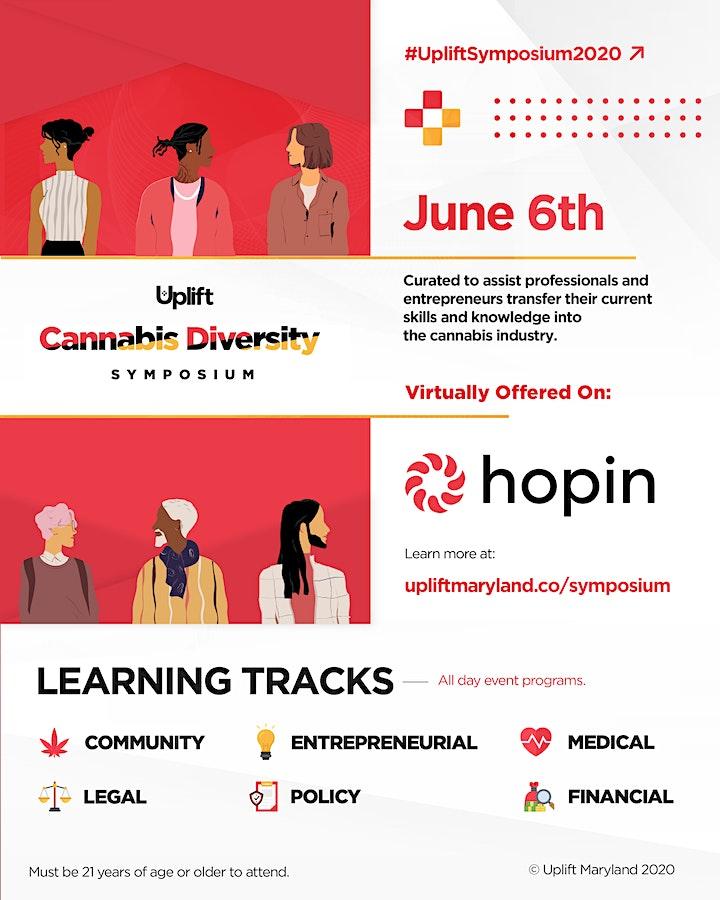Uplift Cannabis Diversity Virtual Symposium image