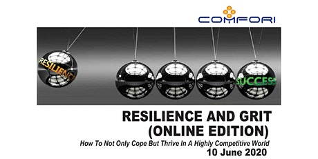 Resilience and Grit (ONLINE EDITION) tickets
