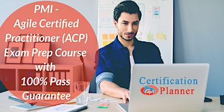 PMI-ACP Certification In-Person Training in Boston tickets