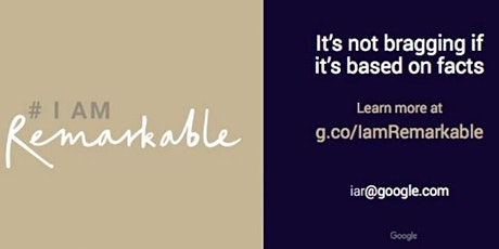 #IamRemarkable tickets