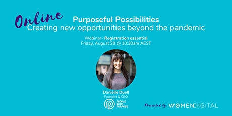 Purposeful Possibilities with Danielle Duell tickets