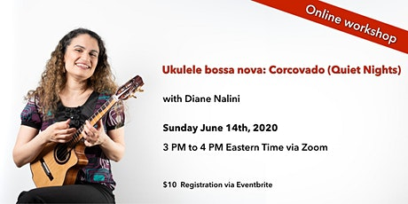 "Ukulele bossa nova: ""Corcovado (Quiet Nights Of Quiet Stars)"" (online) tickets"