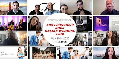 SF Area Wedding Fair - ONLINE & LIVE tickets