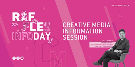 Raffles Virtual InfoDay May 2020: Creative Media tickets