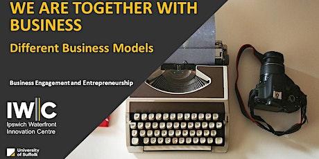 Enterprise Skills Summer Series: Different Business Models tickets