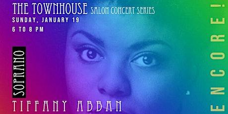 Soprano Tiffany Abban tickets