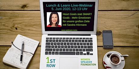 """Live-Webinar """"HEART Goals statt SMART Goals"""" Tickets"""