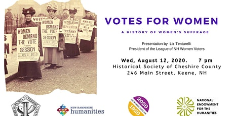 Votes for Women: A History of Women's Suffrage tickets