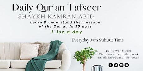 Daily Quran Tafsir tickets