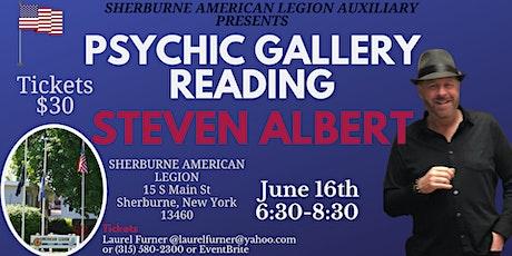 Steven Albert: Psychic Gallery Event Sherburne tickets