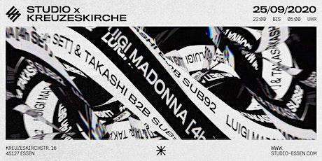 Studio x Kreuzeskirche x Luigi Madonna Tickets