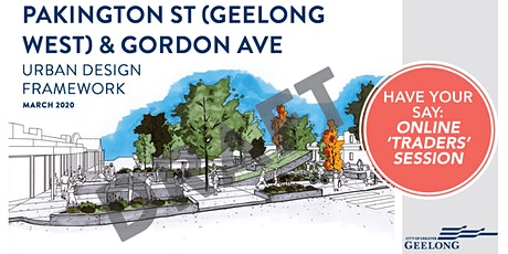 Draft Pakington St and Gordon Ave UDF - Online 'Traders' Session tickets