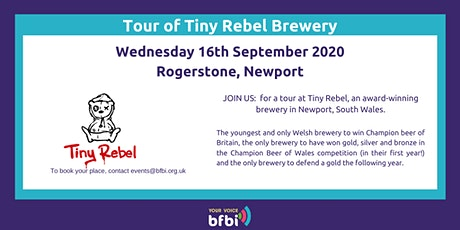 BFBi  Tiny Rebel Tour tickets