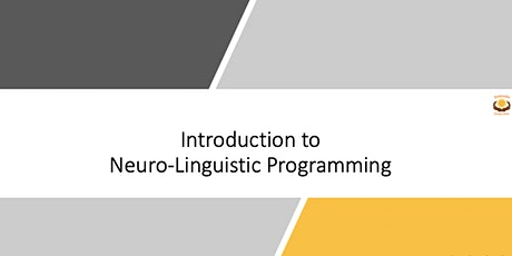 Fundamentals of Neuro-Linguistic Programming - Online boletos