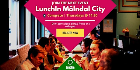 LunchIn™ - Mölndal City - Networking Lunch tickets